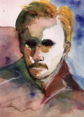 self-portrait of Greg Evans